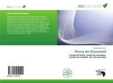 Capa do livro de Henry de Grosmont