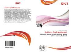 Capa do livro de Ad-hoc QoS Multicast