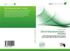 Capa do livro de 2010 If Stockholm Open – Doubles