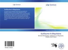 Portada del libro de Guillaume II d'Aquitaine