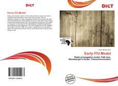 Borítókép a  Early ITU Model - hoz