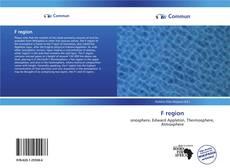 Bookcover of F region