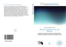 Couverture de Pierre Lambert de La Motte