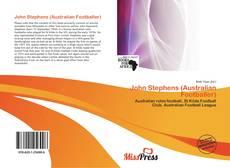 Bookcover of John Stephens (Australian Footballer)