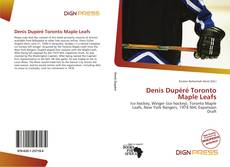 Bookcover of Denis Dupéré Toronto Maple Leafs