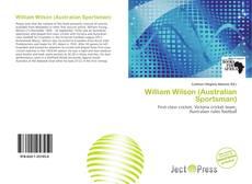 Bookcover of William Wilson (Australian Sportsman)
