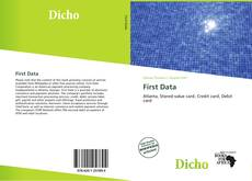 Bookcover of First Data