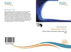 Bookcover of Alexander Dick