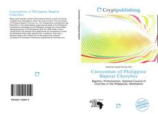 Capa do livro de Convention of Philippine Baptist Churches