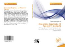 Couverture de Canadian Baptists of Western Canada