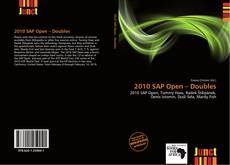 Bookcover of 2010 SAP Open – Doubles