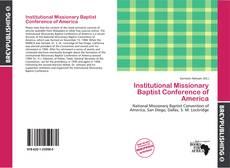 Institutional Missionary Baptist Conference of America kitap kapağı
