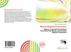 Couverture de Macau Baptist Convention