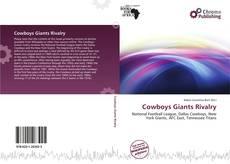 Portada del libro de Cowboys Giants Rivalry
