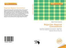 Couverture de Nigerian Baptist Convention