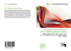 Buchcover von 2011 BMW Ljubljana Open