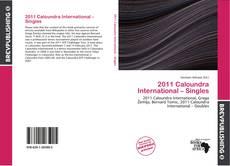 Couverture de 2011 Caloundra International – Singles