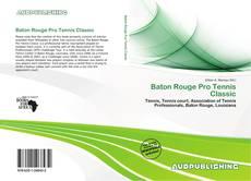 Baton Rouge Pro Tennis Classic kitap kapağı