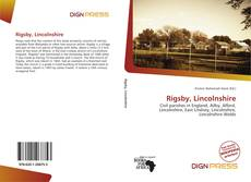 Bookcover of Rigsby, Lincolnshire