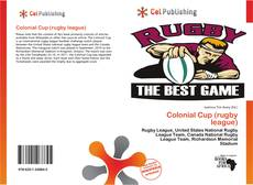 Bookcover of Colonial Cup (rugby league)