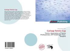 Capa do livro de Carisap Tennis Cup