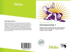 Bookcover of Championship 1