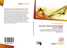 Sweden National Football Team 2007的封面