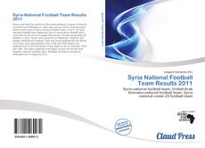 Обложка Syria National Football Team Results 2011