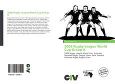 Buchcover von 2008 Rugby League World Cup Group A