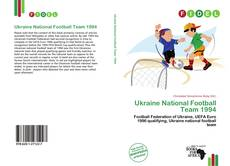 Ukraine National Football Team 1994 kitap kapağı
