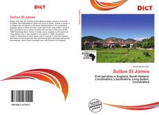 Portada del libro de Sutton St James