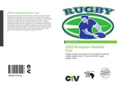 Bookcover of 2003 European Nations Cup