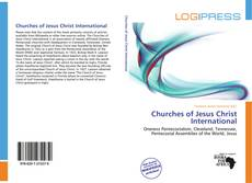 Bookcover of Churches of Jesus Christ International