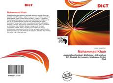 Bookcover of Mohammad Khair