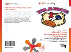 Capa do livro de 1998–99 French Championship season (rugby league)