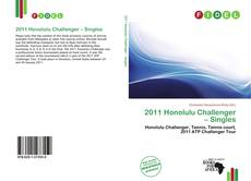 Bookcover of 2011 Honolulu Challenger – Singles