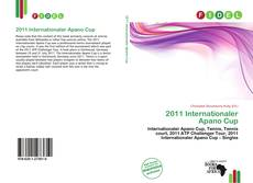 Bookcover of 2011 Internationaler Apano Cup