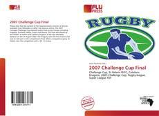 Capa do livro de 2007 Challenge Cup Final