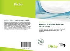 Copertina di Estonia National Football Team 1991