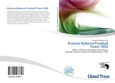 Copertina di Estonia National Football Team 1992