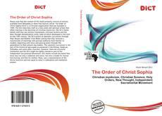 Обложка The Order of Christ Sophia