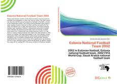Copertina di Estonia National Football Team 2002