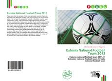 Обложка Estonia National Football Team 2012