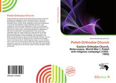 Bookcover of Polish Orthodox Church