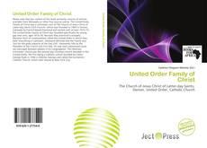 Обложка United Order Family of Christ