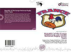 Bookcover of Republic of the Congo National Rugby Union Team