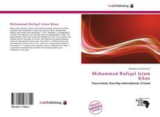 Mohammad Rafiqul Islam Khan的封面