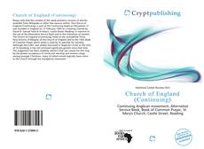 Bookcover of Church of England (Continuing)