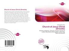 Buchcover von Church of Jesus Christ (Drewite)