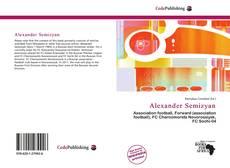 Alexander Semizyan kitap kapağı